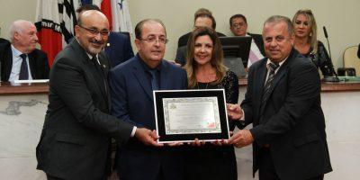 imagem - Motta recebe título de Cidadão Honorário Rio-Pretense