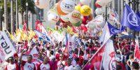 Trabalhadores do Brasil inteiro se unem em mobilização contra desmonte de direitos