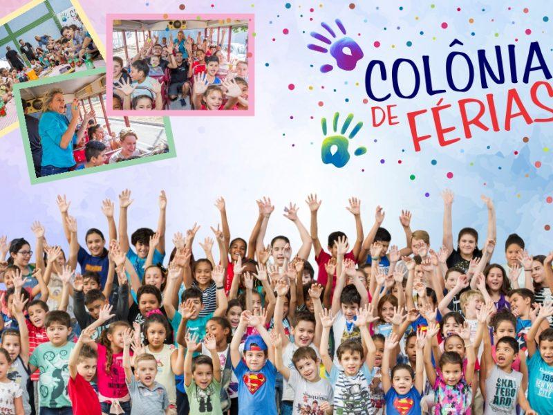 Colônia de férias para criançada em Janeiro