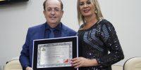 Motta recebe título de Cidadão Honorário Rio-Pretense