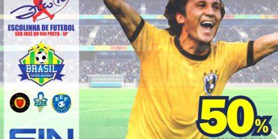 imagem - Associados do Sincomerciários tem 50% de desconto na Escola de Futebol Brasil Soccer Academy