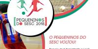 """Imagem - Escolinha de Futsal do Sincomerciários disputará pelo campeonato """"Pequeninos do Sesc 2018"""""""