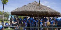 Público participa do dia do Comerciário em Avaré