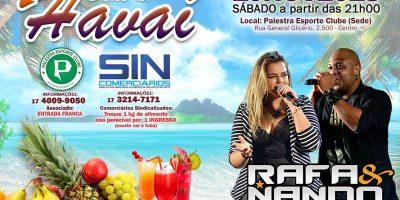 imagem - Sábado tem Baile do Havaí em Rio Preto