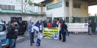 Sindicalistas protestam contra impasse na CCT dos práticos de Farmácia