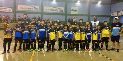 imagem - Escolinha de Futsal Sincomerciários participa de jogos amistosos