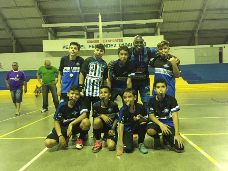 Escolinha de Futsal Sincomerciários é campeã da 3° Copa Agostiniana de Futsal 2018