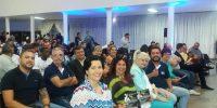 Colaboradores prestigiam palestra de Alfredo Rocha