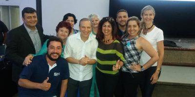 imagem - Colaboradores prestigiam palestra de Alfredo Rocha