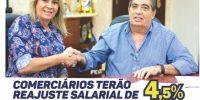 """""""Em Notícias"""" do Sincomerciários circula na base"""