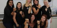 Sincomerciários participa de ato contra o Feminicídio