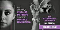Sincomerciários apoia campanha contra o Feminicídio