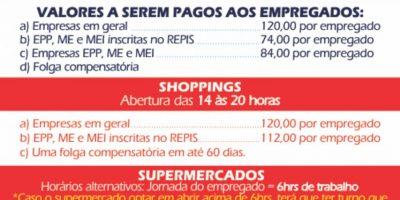 imagem - Horário de funcionamento do comércio no feriado de 19 de março