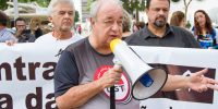 Sincomerciários participa de ato contra a Reforma da Previdência