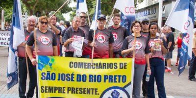 imagem - Sincomerciários participa de ato contra a Reforma da Previdência