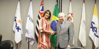 Márcia Caldasé nomeada membro do Conselho Regional do Senac em São Paulo