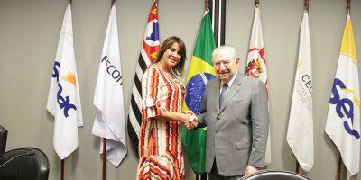 imagem - Márcia Caldasé nomeada membro do Conselho Regional do Senac em São Paulo