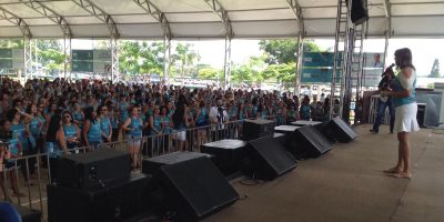 """imagem - Mais de duas mil mulheres participam do evento """"Mulher valorizada, comerciária fortalecida"""" em Avaré"""