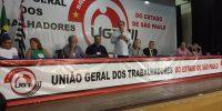 Congresso da UGT-SP reforça luta contra MP 873 e reforma da Previdência