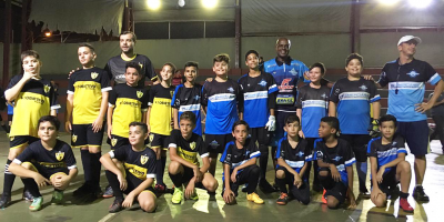 imagem - Escolinha de Futsal do Sincomerciários agita jogos amistosos