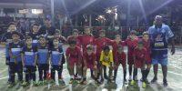 Escolinha de Futsal do Sincomerciários participa de jogos amistosos