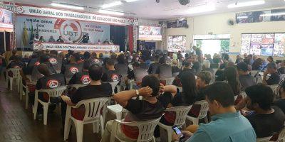 imagem - Congresso da UGT-SP reforça luta contra MP 873 e reforma da Previdência