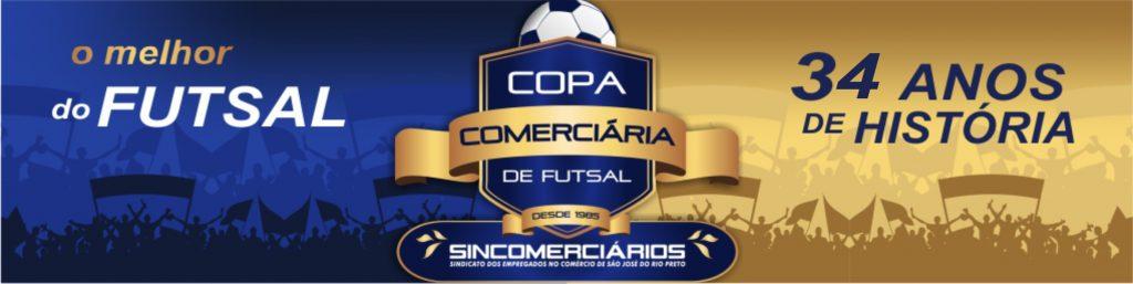 COPA COMERCIÁRIA DE FUTSAL 2019