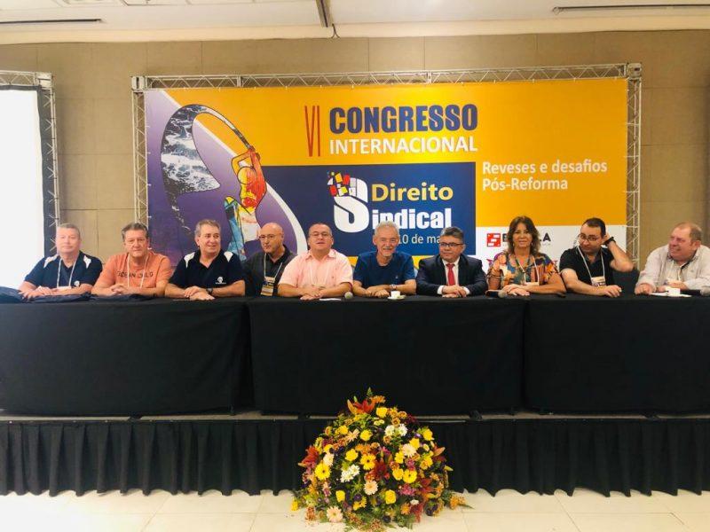 Congresso Internacional de Direito Sindical reúne lideranças