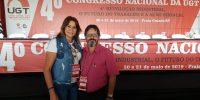 Sincomerciários prestigia 4º Congresso Nacional da UGT