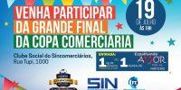 34º Copa Comerciária de Futsal termina nesta sexta-feira