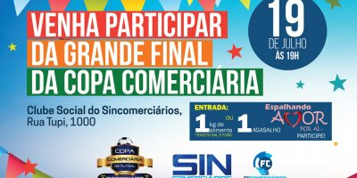 imagem - 34º Copa Comerciária de Futsal termina nesta sexta-feira