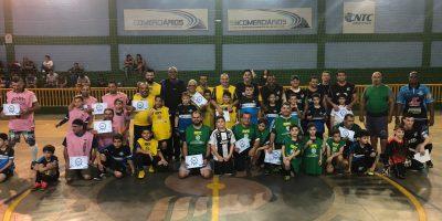 imagem - Futsal Pais & Filhos promove interação e diversão no Clube Social