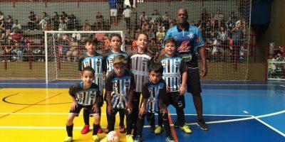 """imagem - Escolinha de Futsal Sincomerciários participa do torneio """"Pequeninos do SESC 2019"""""""