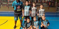 """Escolinha de Futsal Sincomerciários participa do torneio """"Pequeninos do Sesc 2019"""""""