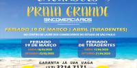 Excursões à Praia Grande animam primeiro semestre