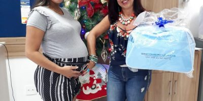 imagem - Sincomerciários entrega 363 kits bebê em 2019