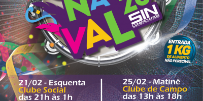 imagem - Sincomerciários convida a categoria para os bailes de Carnaval