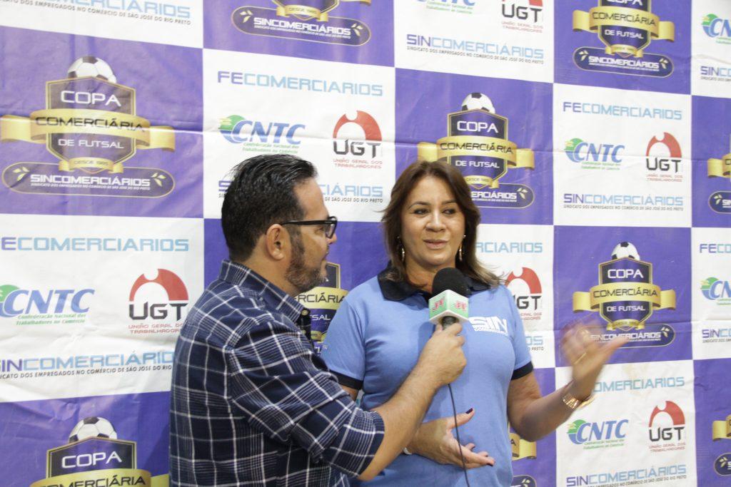 Márcia Caldas em entrevista ao Jornal do Trabalhador