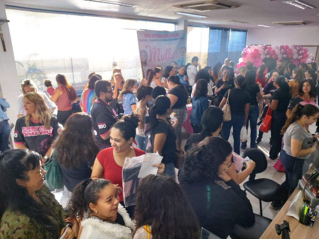 Cerca de 270 comerciárias participaram do evento