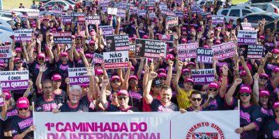 imagem - 1ª caminhada do Dia Internacional da Mulher reúne 600 pessoas