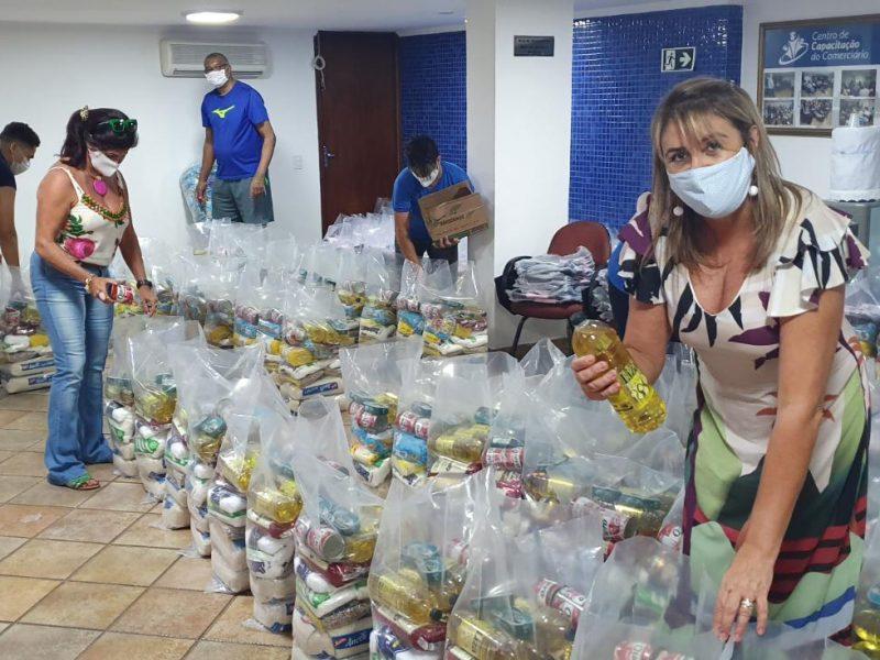 Sincomerciários sorteia 150 cestas básicas no Dia do Trabalho