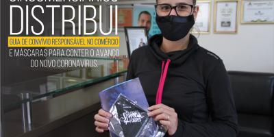 imagem - Comerciários de Rio Preto ganham máscaras do sindicato