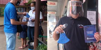 imagem - Sincomerciários distribui guia de combate ao Coronavírus e máscaras