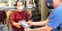 Sincomerciários distribui guia de combate ao Coronavírus e máscaras