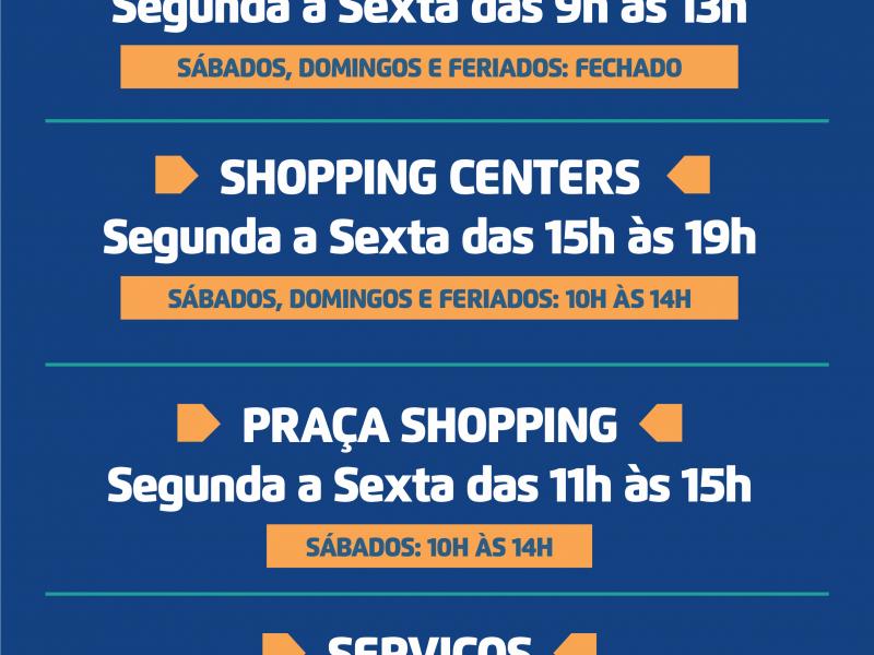 Rio Preto tem novo decreto de funcionamento do comércio
