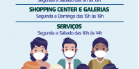 Rio Preto reabre comércio e shoppings