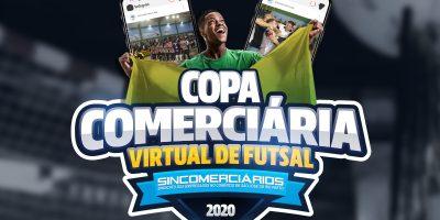 imagem - Copa Comerciária Virtual de Futsal tem início e conta com 16 equipes participantes