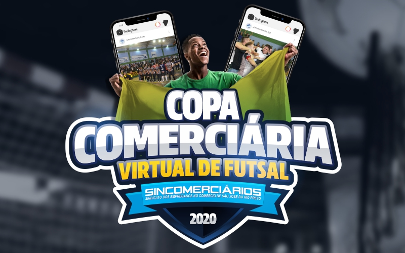 Copa Comerciária Virtual de Futsal tem início e conta com 16 equipes participantes