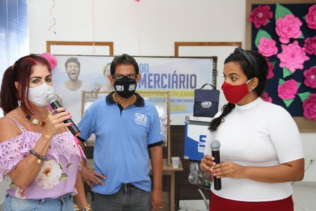 Os sorteios foram comandados pela presidente em exercício Selma Ferrassoli, pelo diretor Marlon Sebastião e pela jornalista Larissa Toledo