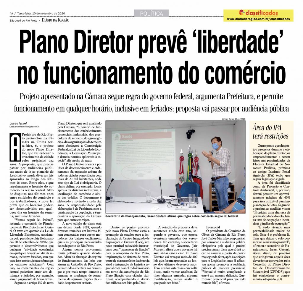 Matéria divulgada pelo Jornal Diário da Região